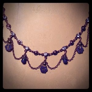 Jewelry - Vintage festoon necklace